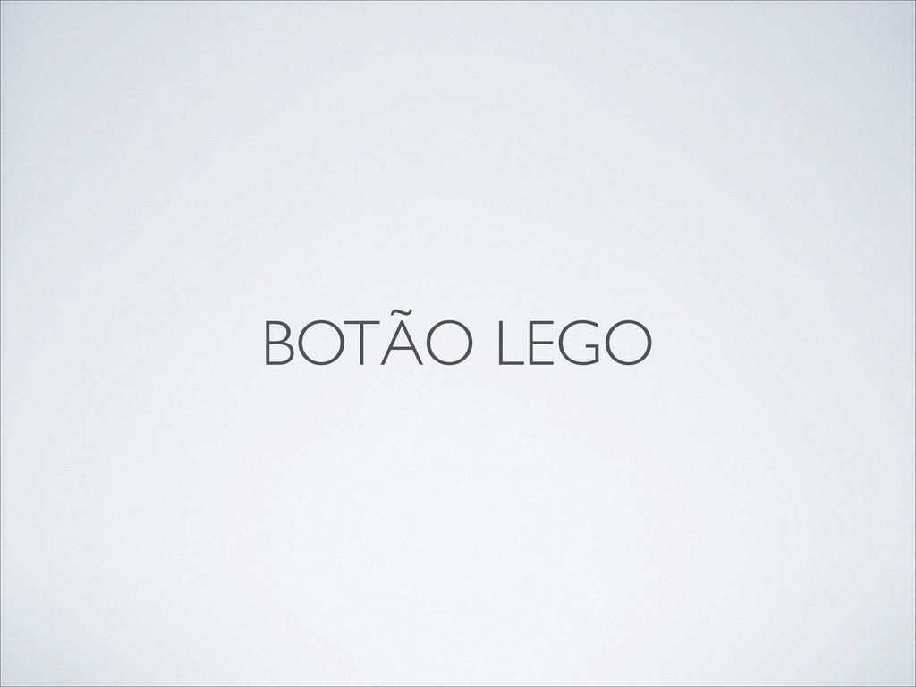 BOTÃO LEGO