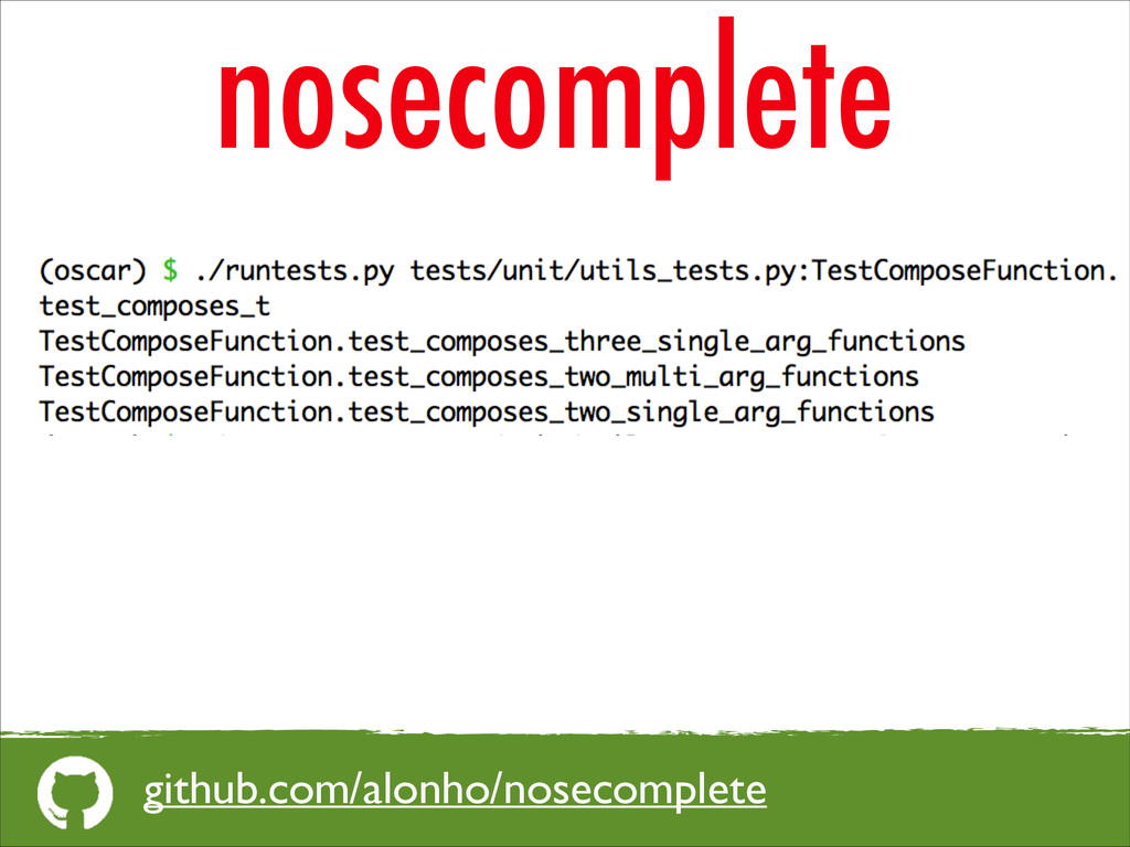 nosecomplete github.com/alonho/nosecomplete