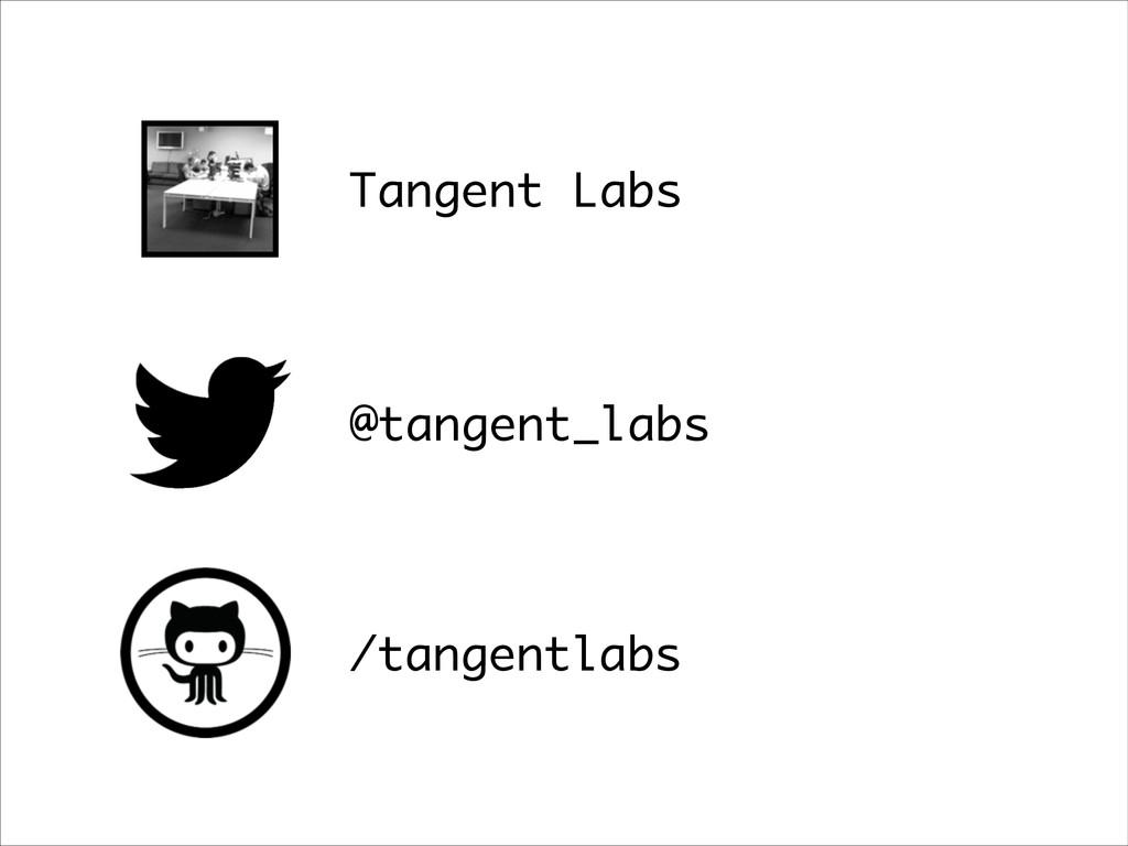 Tangent Labs @tangent_labs /tangentlabs