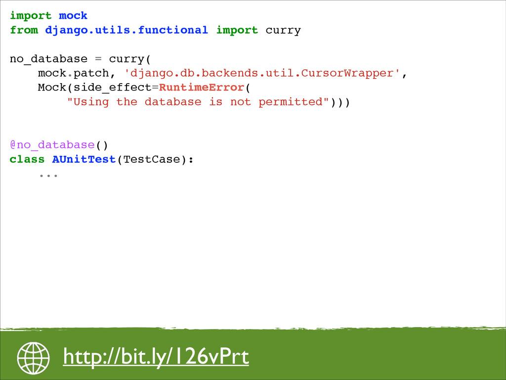 import mock! from django.utils.functional impor...
