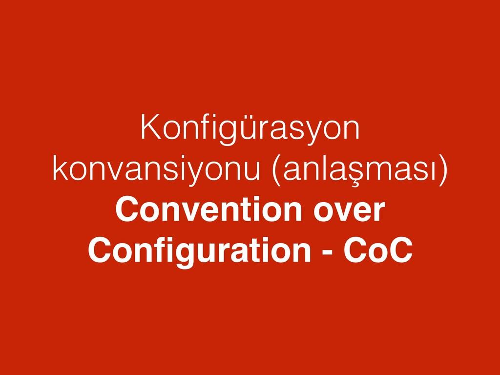 Konfigürasyon konvansiyonu (anlaşması) Conventio...