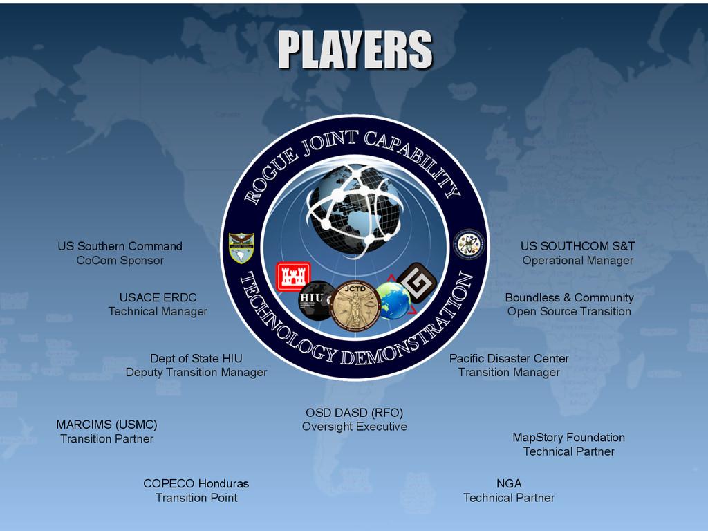 US Southern Command CoCom Sponsor US SOUTHCOM S...