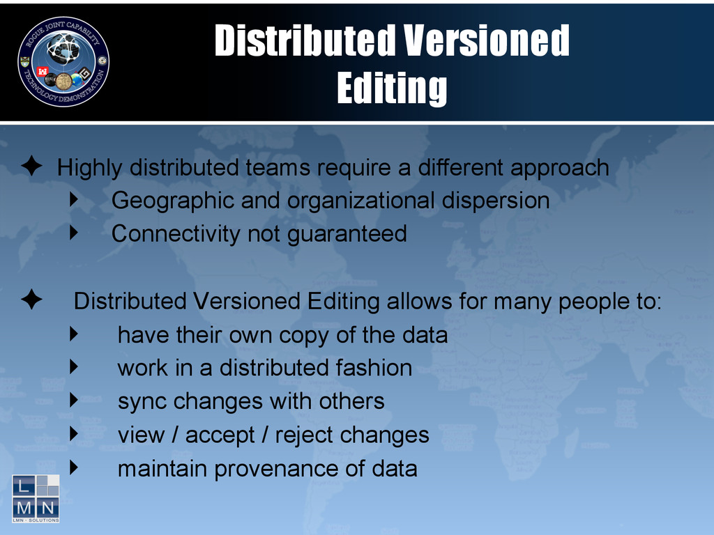 Distributed Versioned Editing ✦ Highly distrib...