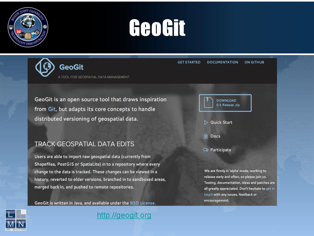 GeoGit http://geogit.org