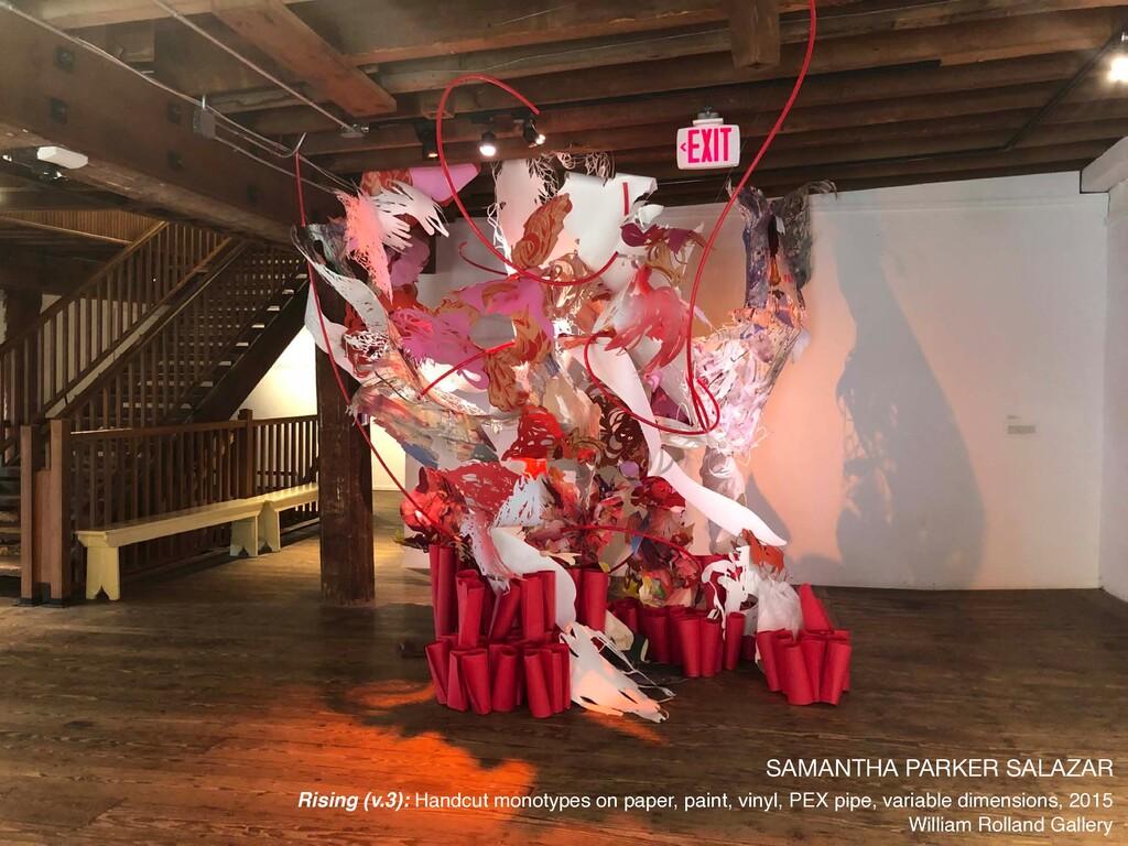 SAMANTHA PARKER SALAZAR  Rising (v.3): Handcut ...