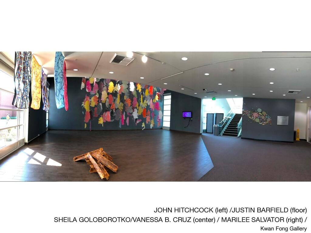 JOHN HITCHCOCK (left) /JUSTIN BARFIELD (floor)  ...