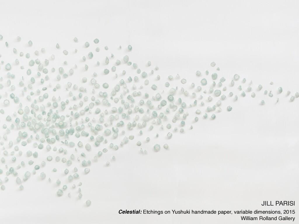 JILL PARISI  Celestial: Etchings on Yushuki han...