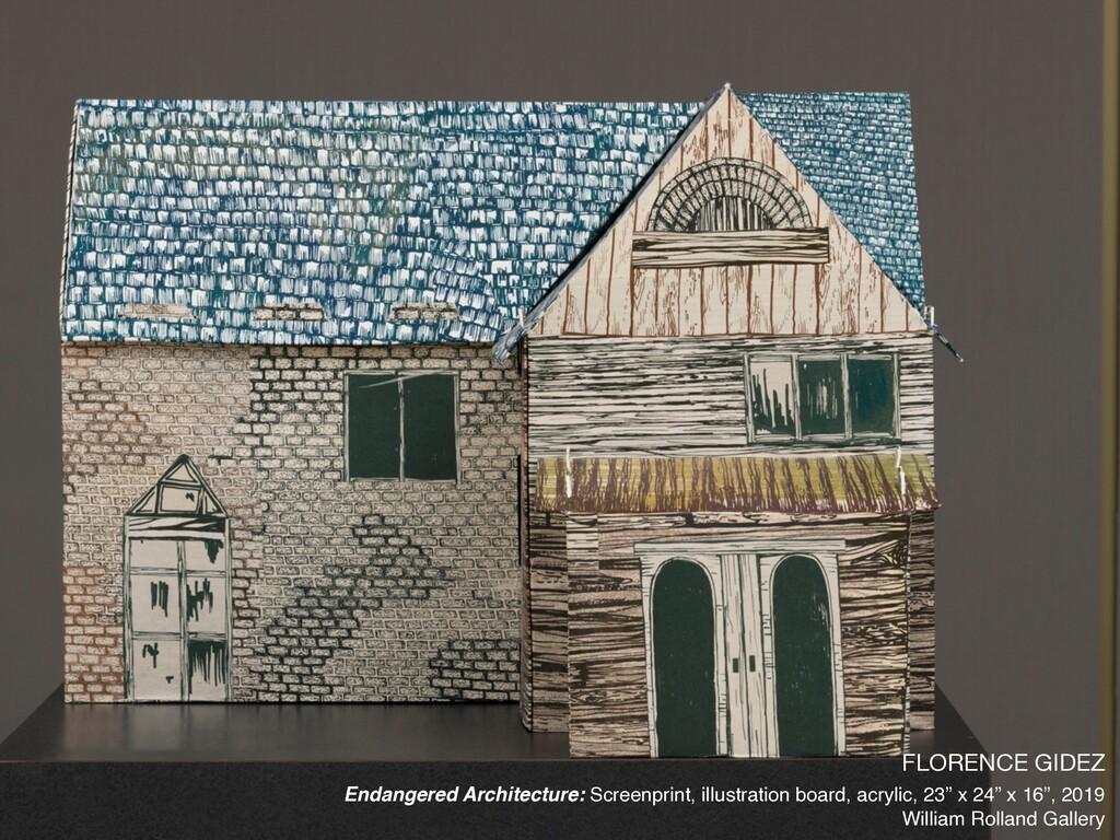 FLORENCE GIDEZ  Endangered Architecture: Screen...