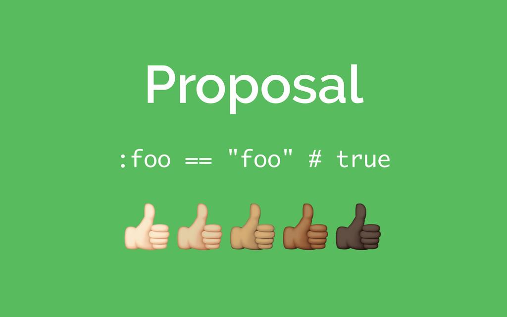 """:foo == """"foo"""" # true Proposal !""""#$%"""