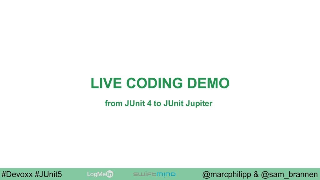 @marcphilipp & @sam_brannen #Devoxx #JUnit5 LIV...
