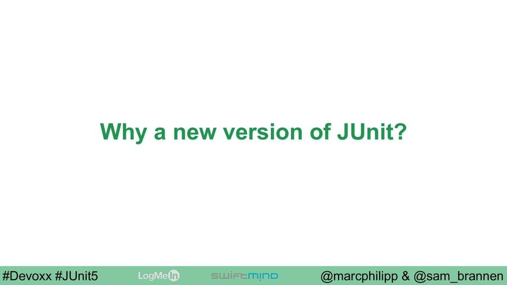 @marcphilipp & @sam_brannen #Devoxx #JUnit5 Why...