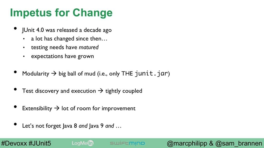 @marcphilipp & @sam_brannen #Devoxx #JUnit5 Imp...