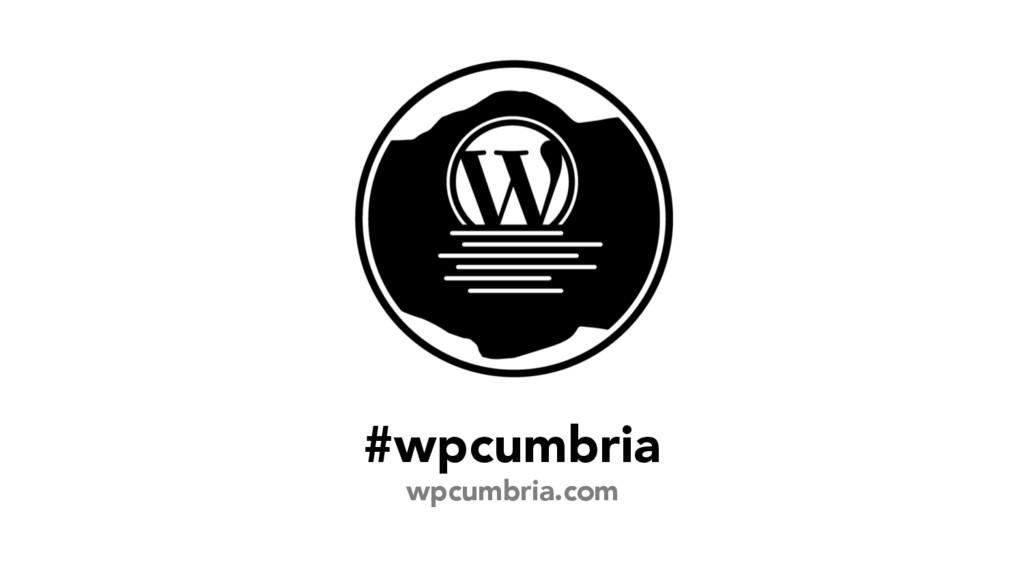 #wpcumbria wpcumbria.com