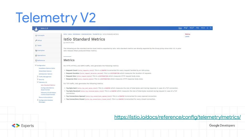 Telemetry V2 https://istio.io/docs/reference/co...