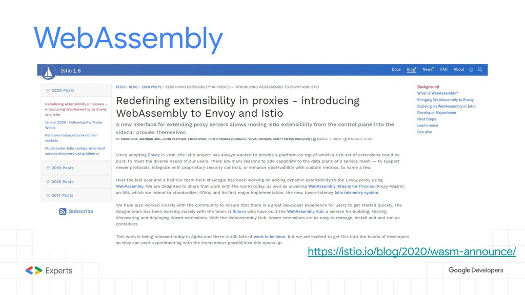 WebAssembly https://istio.io/blog/2020/wasm-ann...