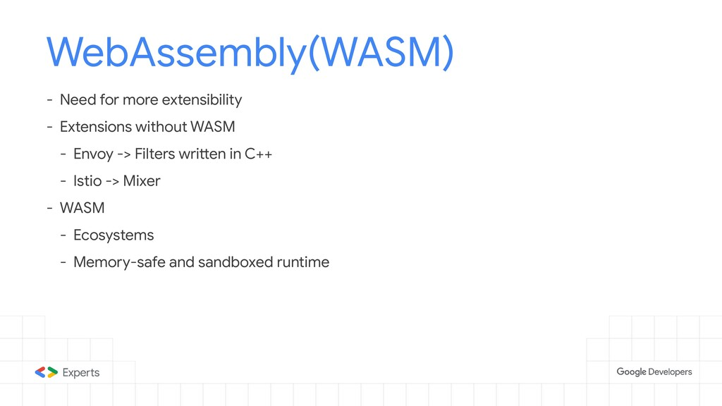 WebAssembly(WASM) - Need for more extensibility...