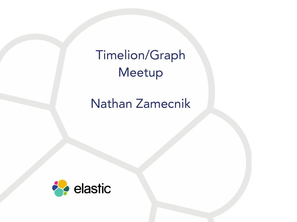 Timelion/Graph Meetup Nathan Zamecnik