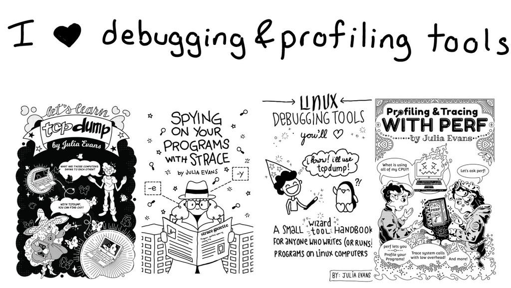 I 800 debugging profiling tools