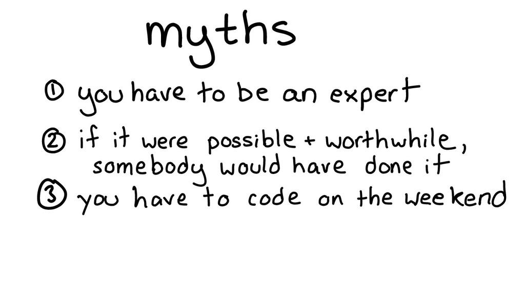myths...