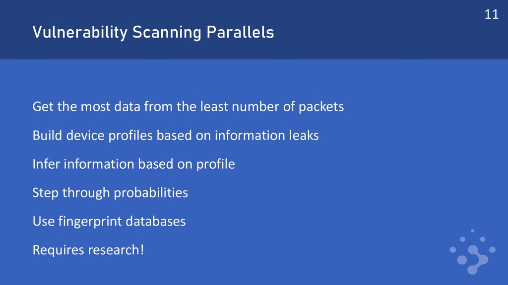 Vulnerability Scanning Parallels Get the most d...