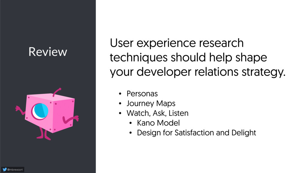 Review @mbrevoort User experience research tech...