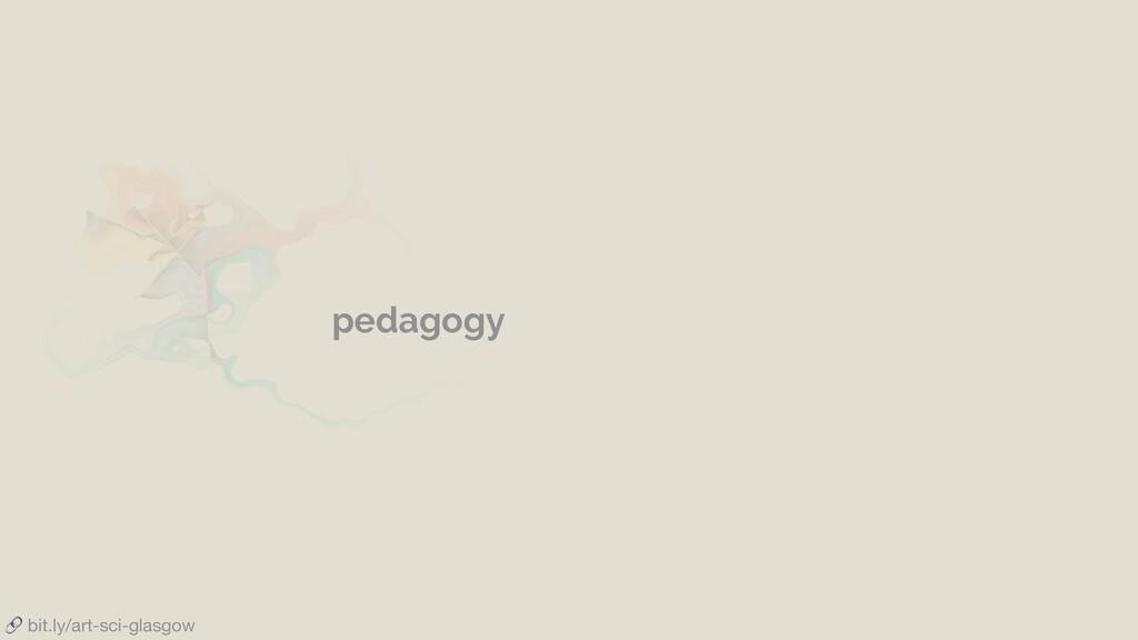bit.ly/art-sci-glasgow pedagogy