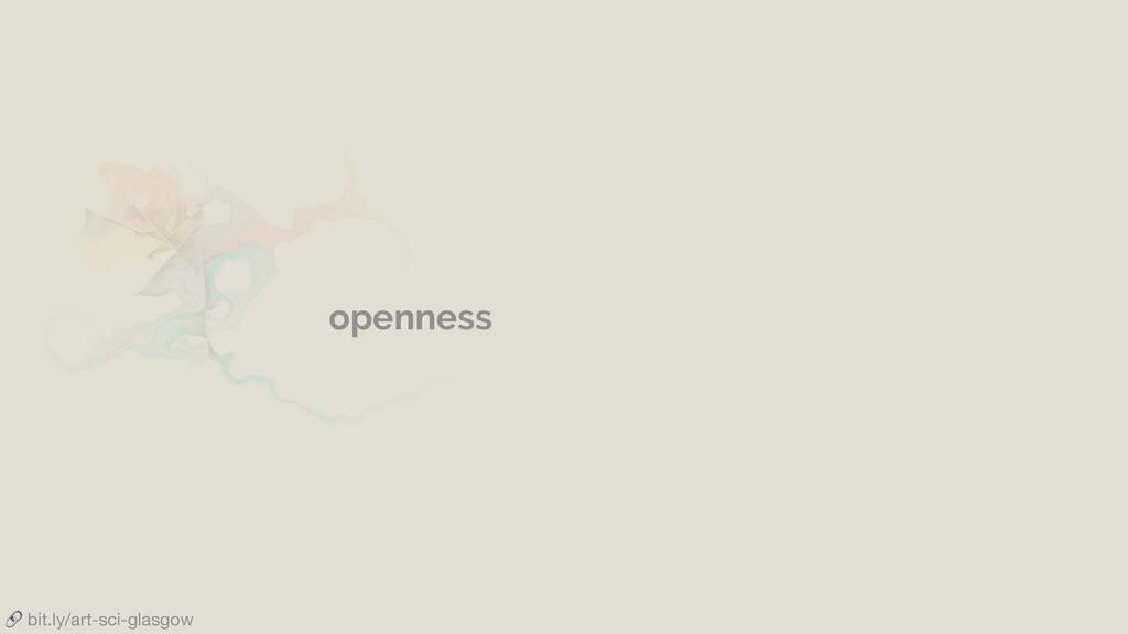 bit.ly/art-sci-glasgow openness