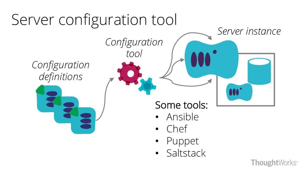 Server configuration tool Configuration tool Co...
