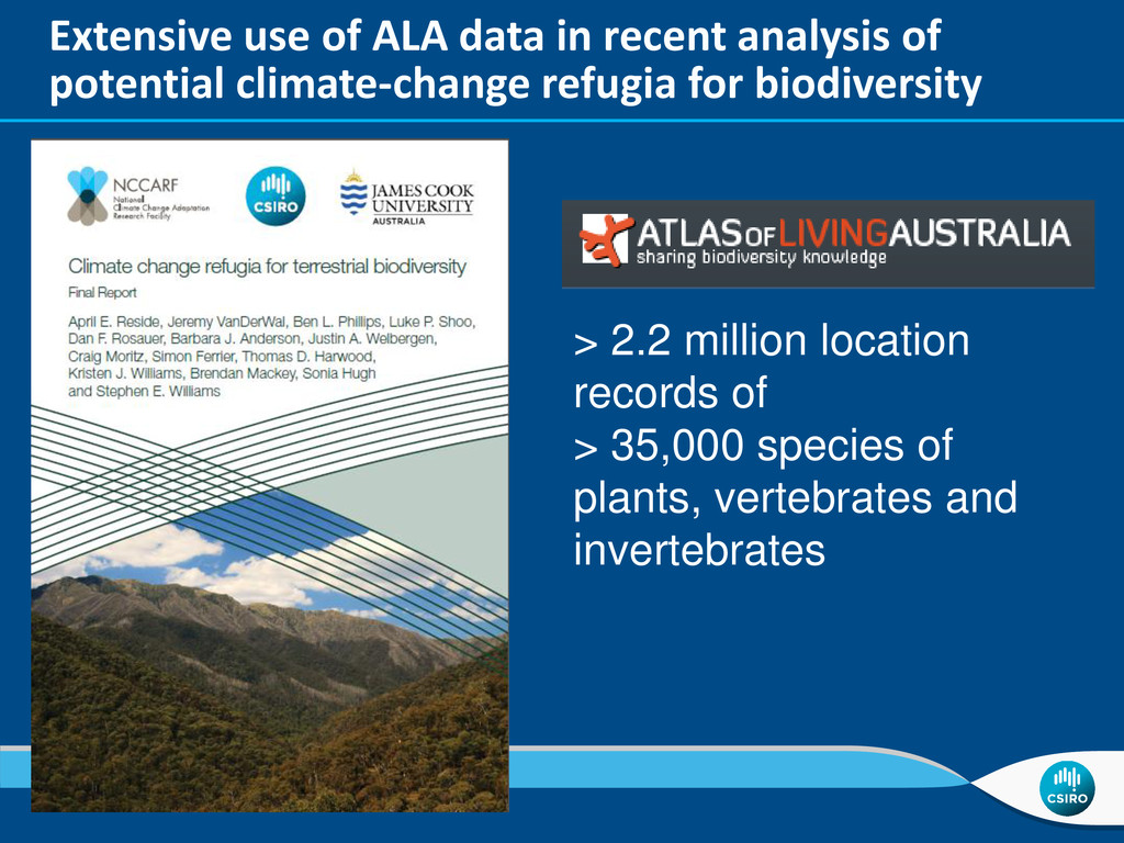 Extensive use of ALA data in recent analysis of...