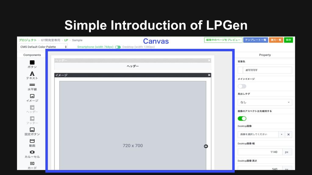 Simple Introduction of LPGen $BOWBT