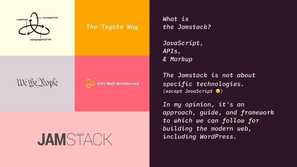 What is the Jamstack? JavaScript, APIs, & Marku...