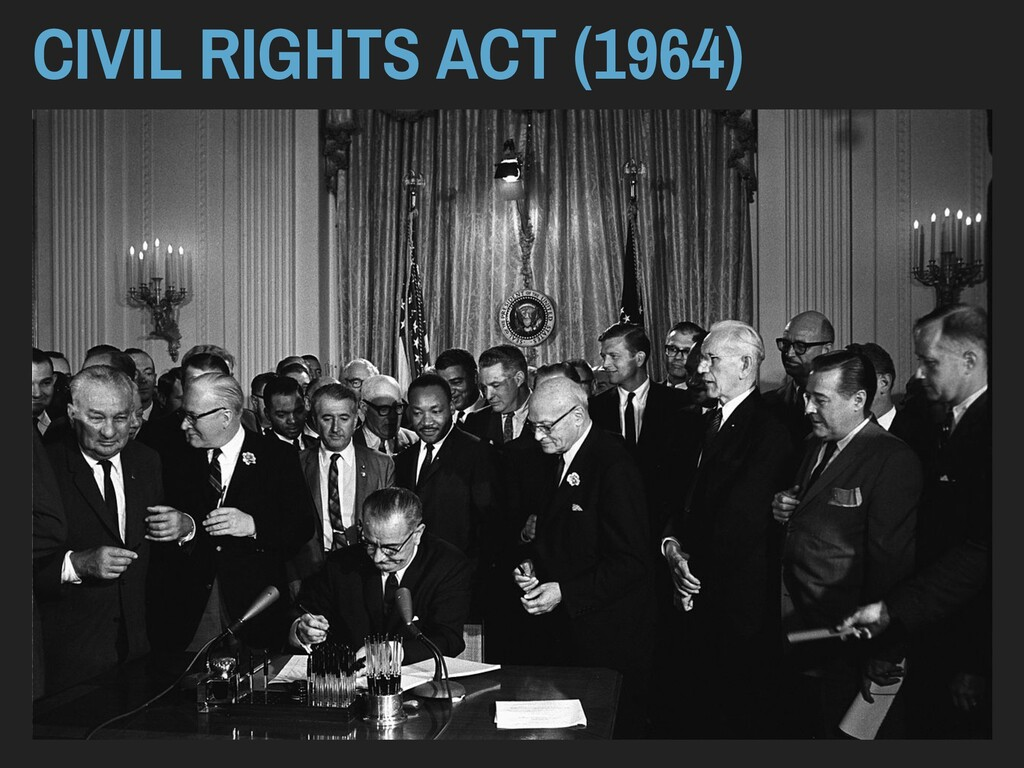 CIVIL RIGHTS ACT (1964)