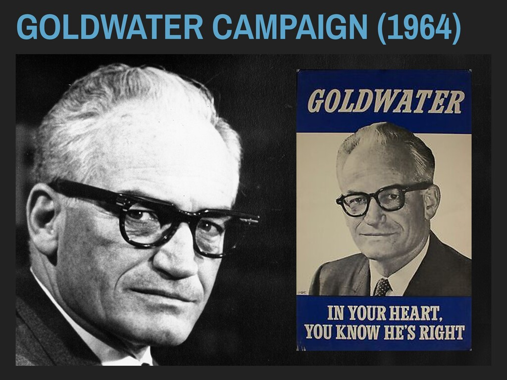 GOLDWATER CAMPAIGN (1964)
