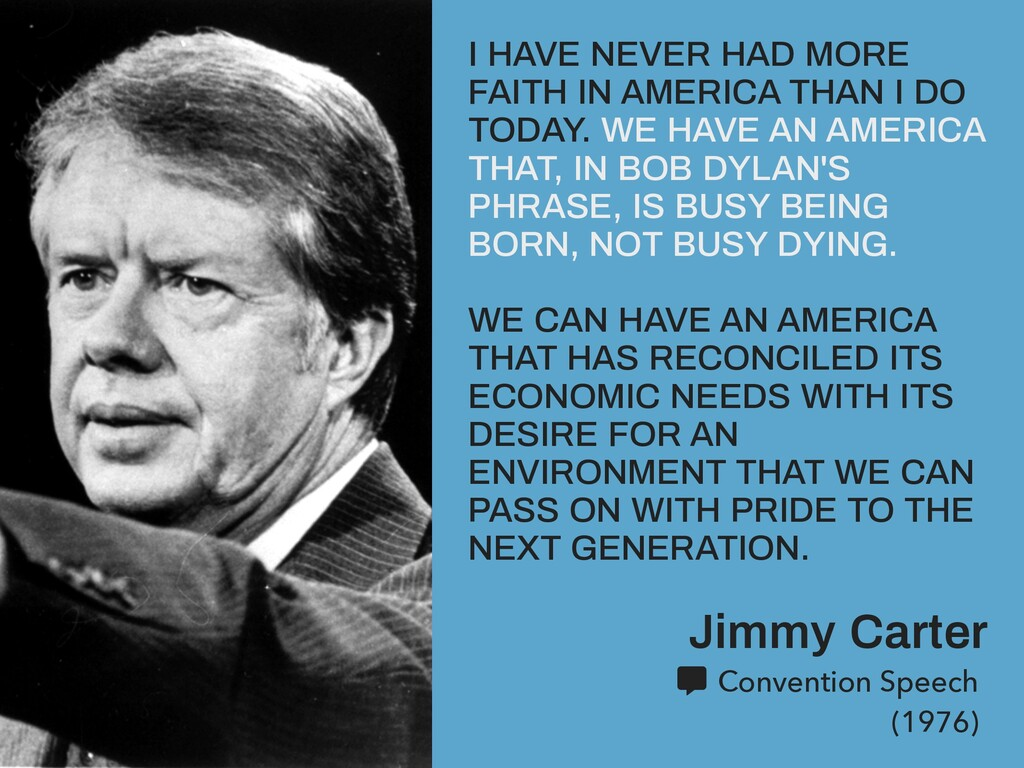 Jimmy Carter Convention Speech (1976) I HAVE NE...