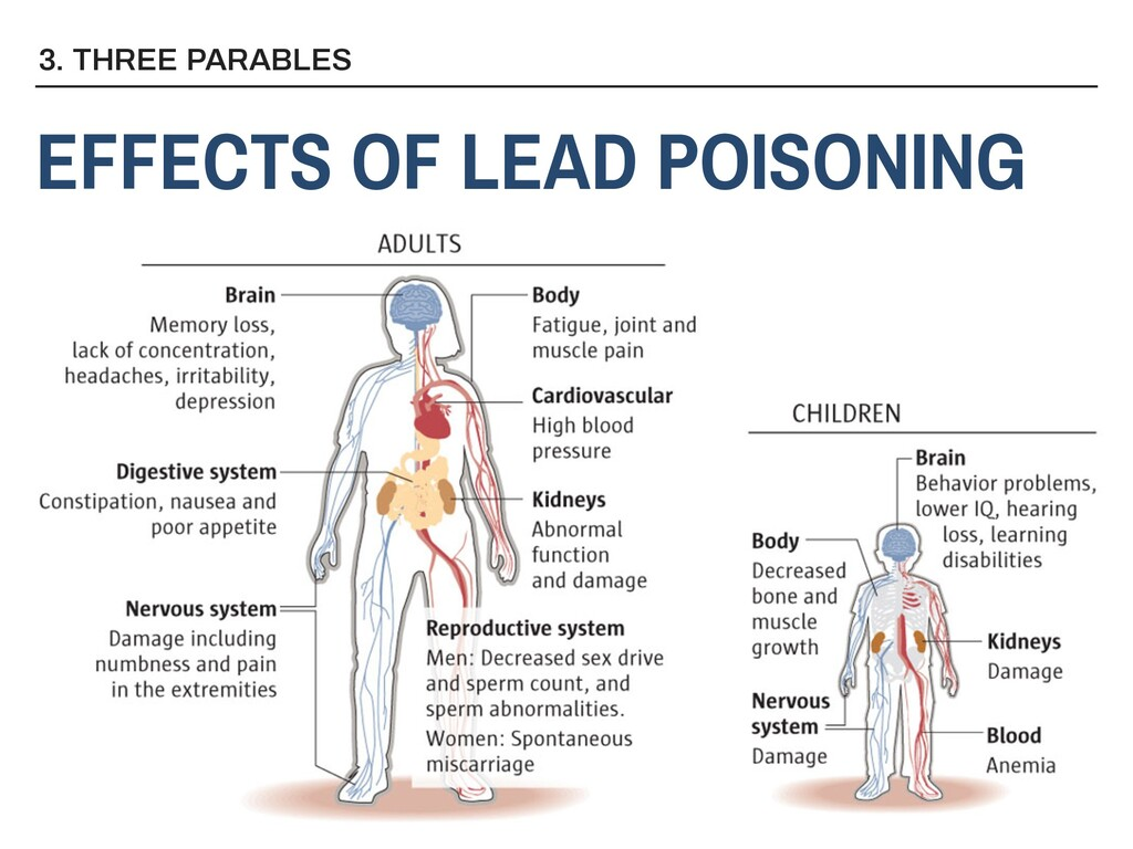 3. THREE PARABLES EFFECTS OF LEAD POISONING