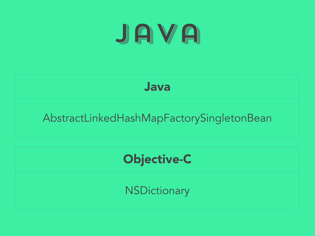 Java Java AbstractLinkedHashMapFactorySingleton...