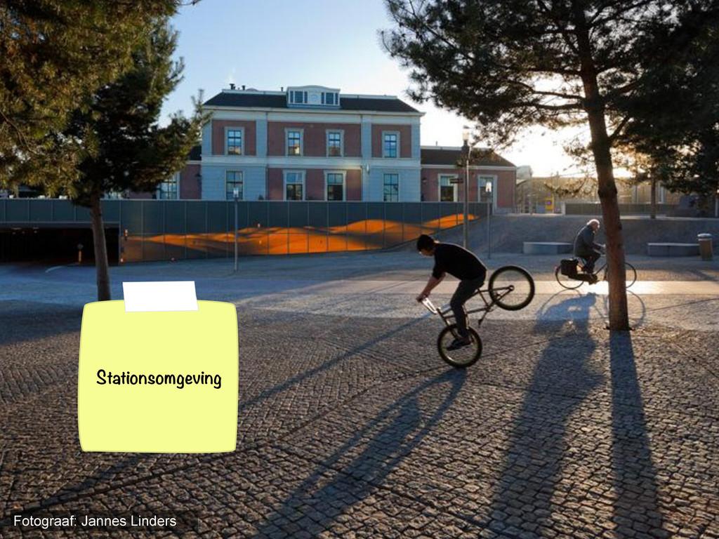 Stationsomgeving Fotograaf: Jannes Linders