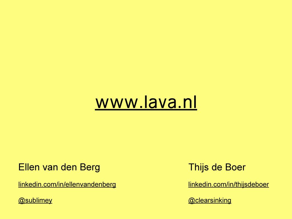 Ellen van den Berg Thijs de Boer linkedin.com/i...