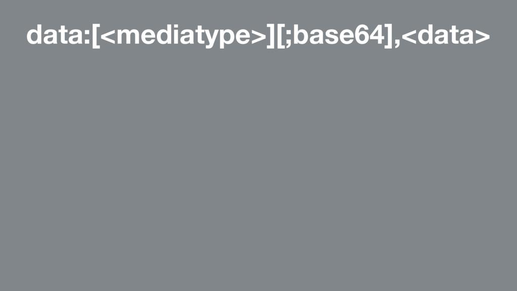 data:[<mediatype>][;base64],<data>