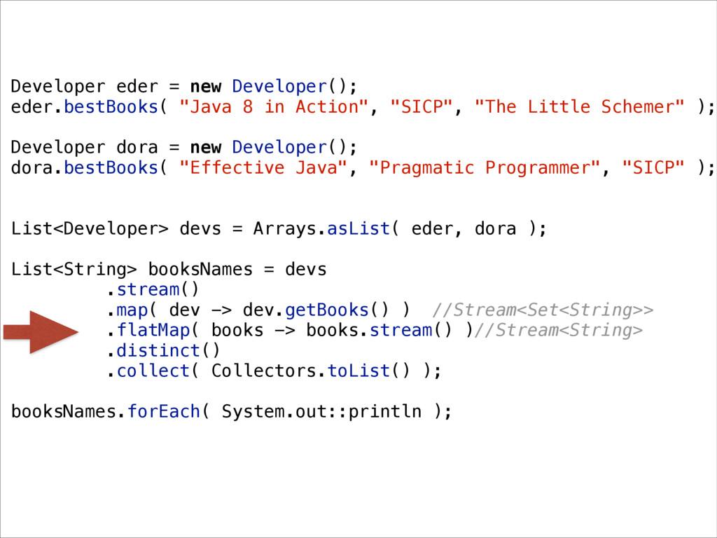 Developer eder = new Developer(); eder.bestBook...