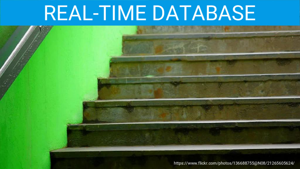 REAL-TIME DATABASE https://www.flickr.com/photo...
