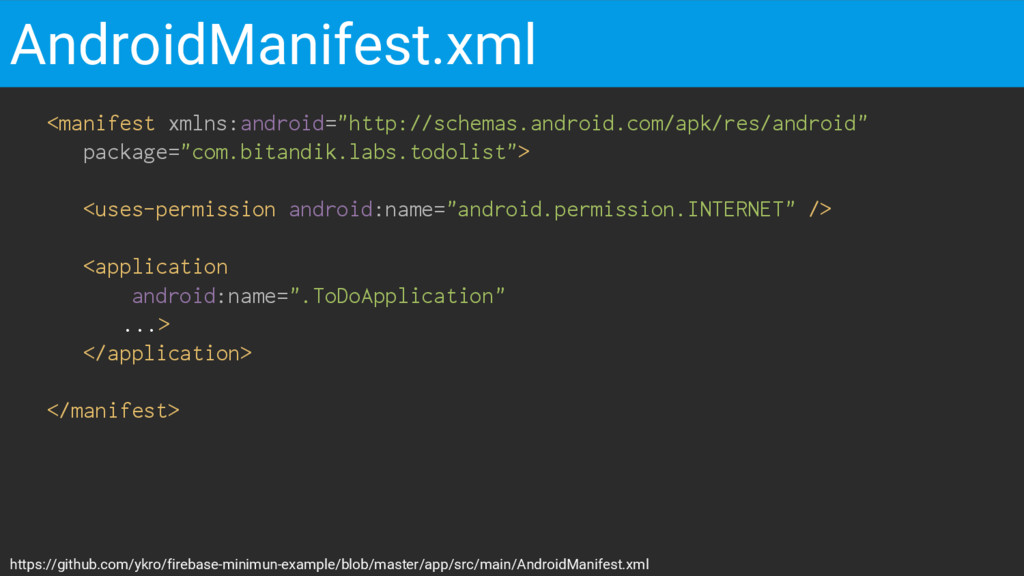 """<manifest xmlns:android=""""http://schemas.android..."""
