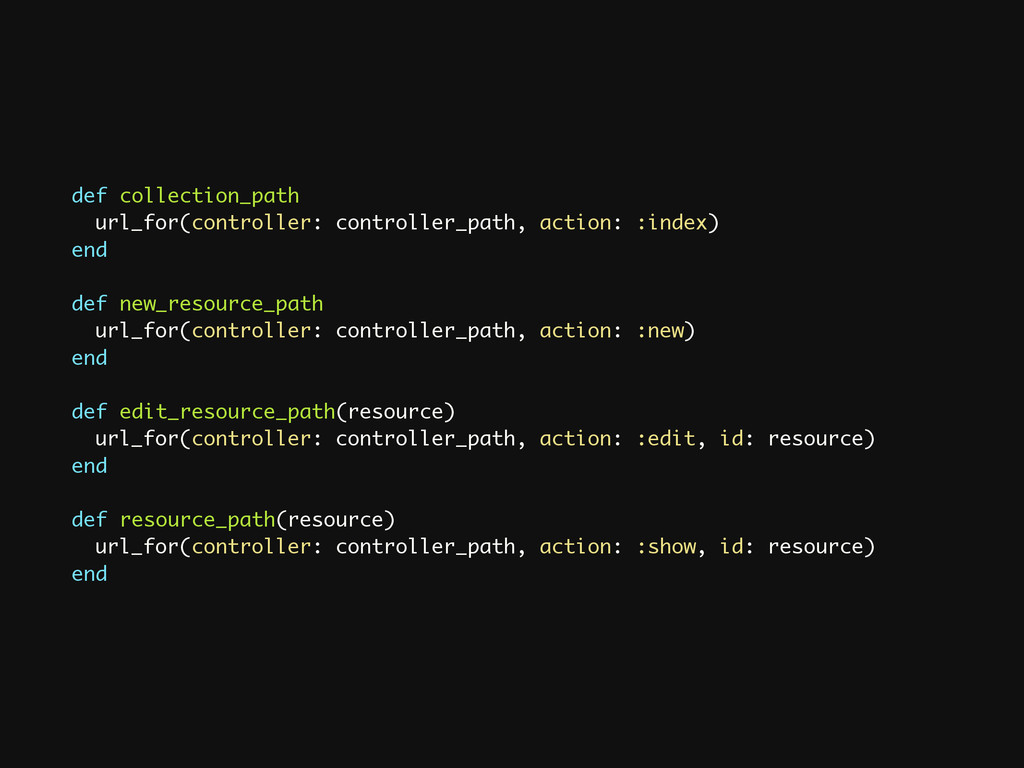 def collection_path url_for(controller: control...