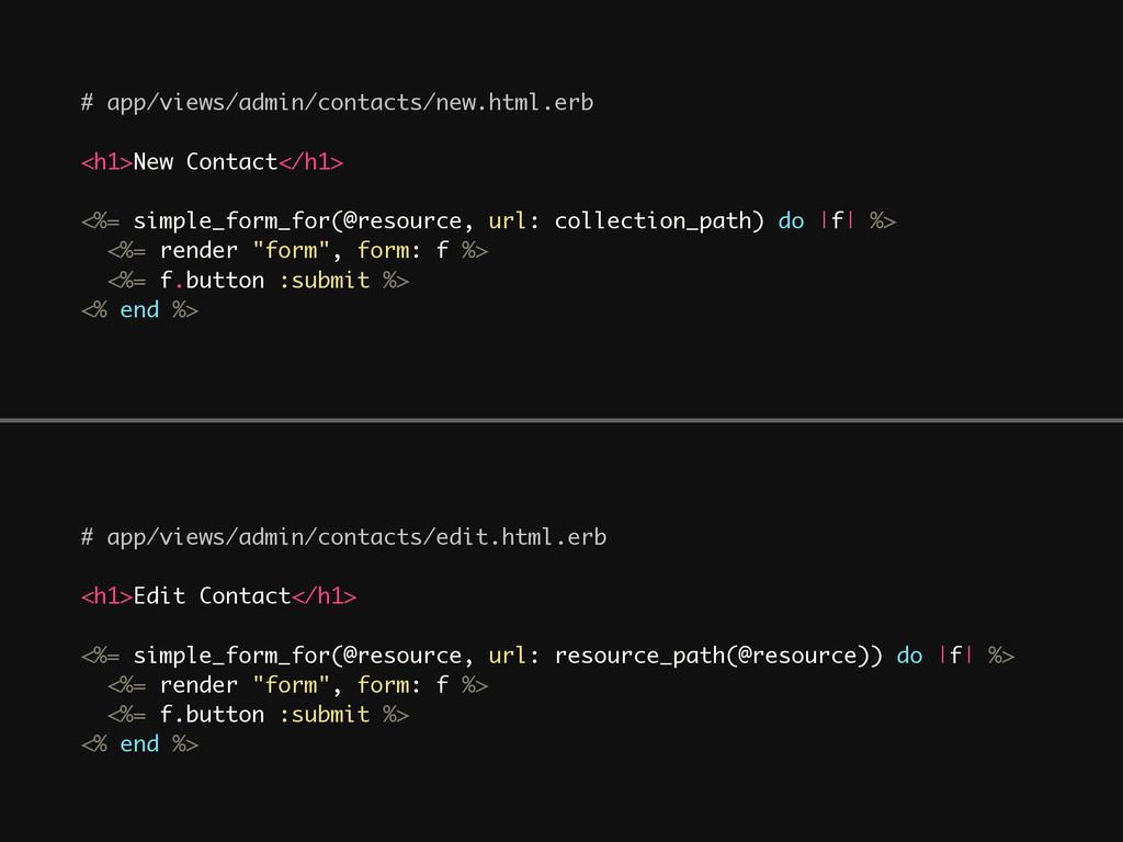 # app/views/admin/contacts/edit.html.erb ! <h1>...