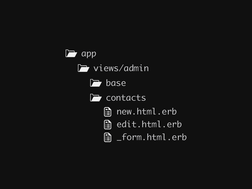 contacts app views/admin base new.html.erb edit...