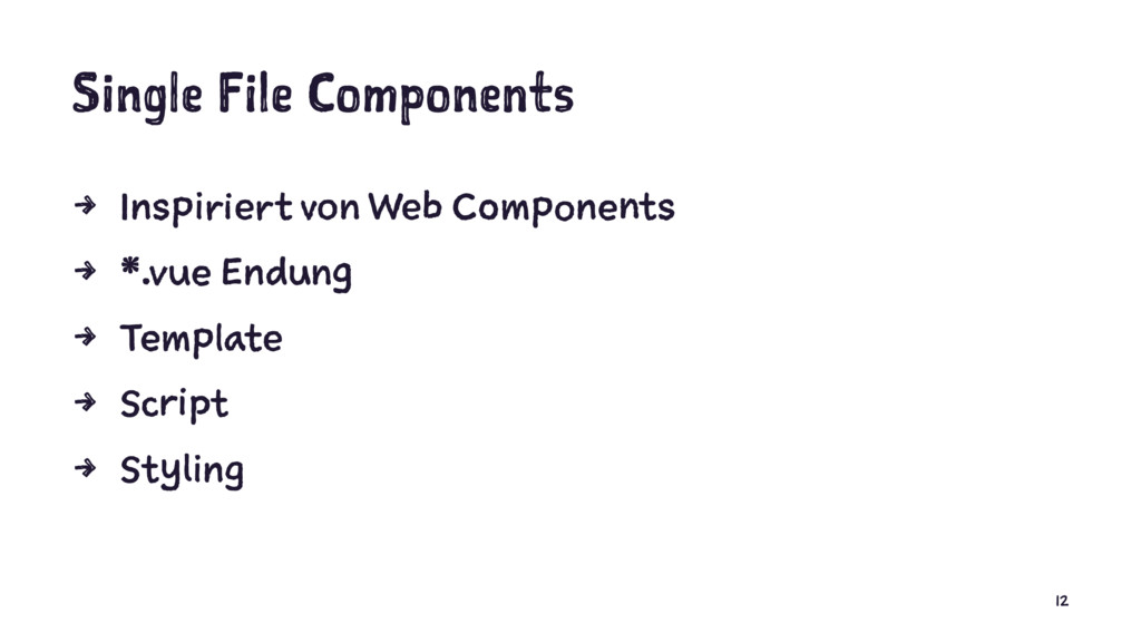Single File Components 4 Inspiriert von Web Com...