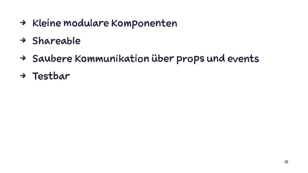 4 Kleine modulare Komponenten 4 Shareable 4 Sau...