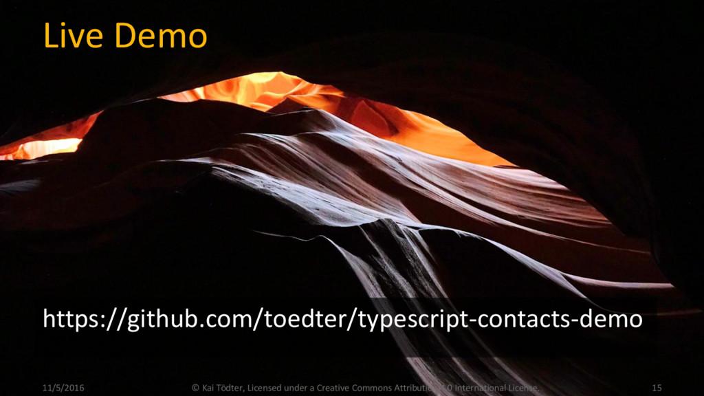 Live Demo https://github.com/toedter/typescript...