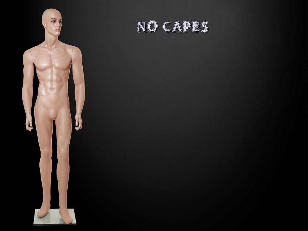 NO CAPES NO CAPES