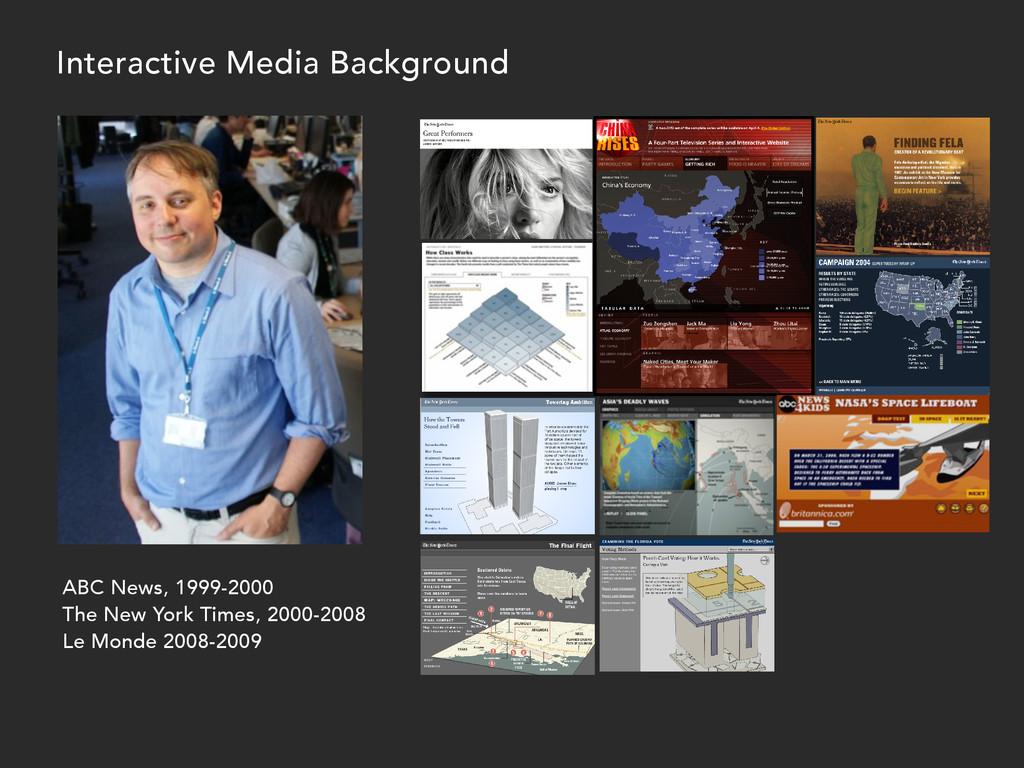 ABC News, 1999-2000 The New York Times, 2000-20...
